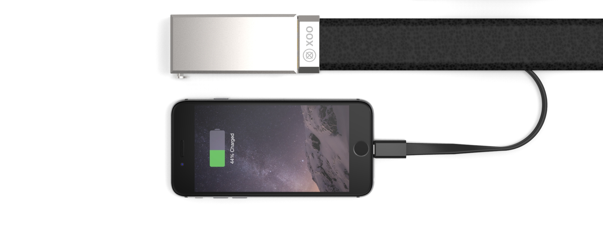 The Nifty Xoo Belt Is A Wearable Battery Charger
