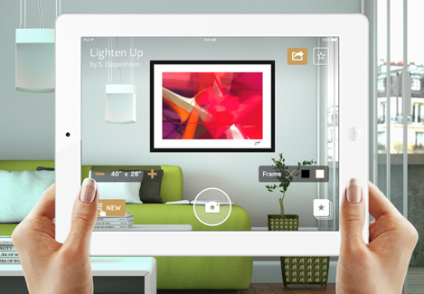 Preview Art On The Wall With Curioos Augmented Reality App