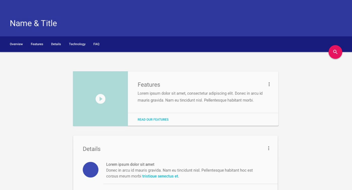Google Unveils Material Design Lite To Help Websites Look