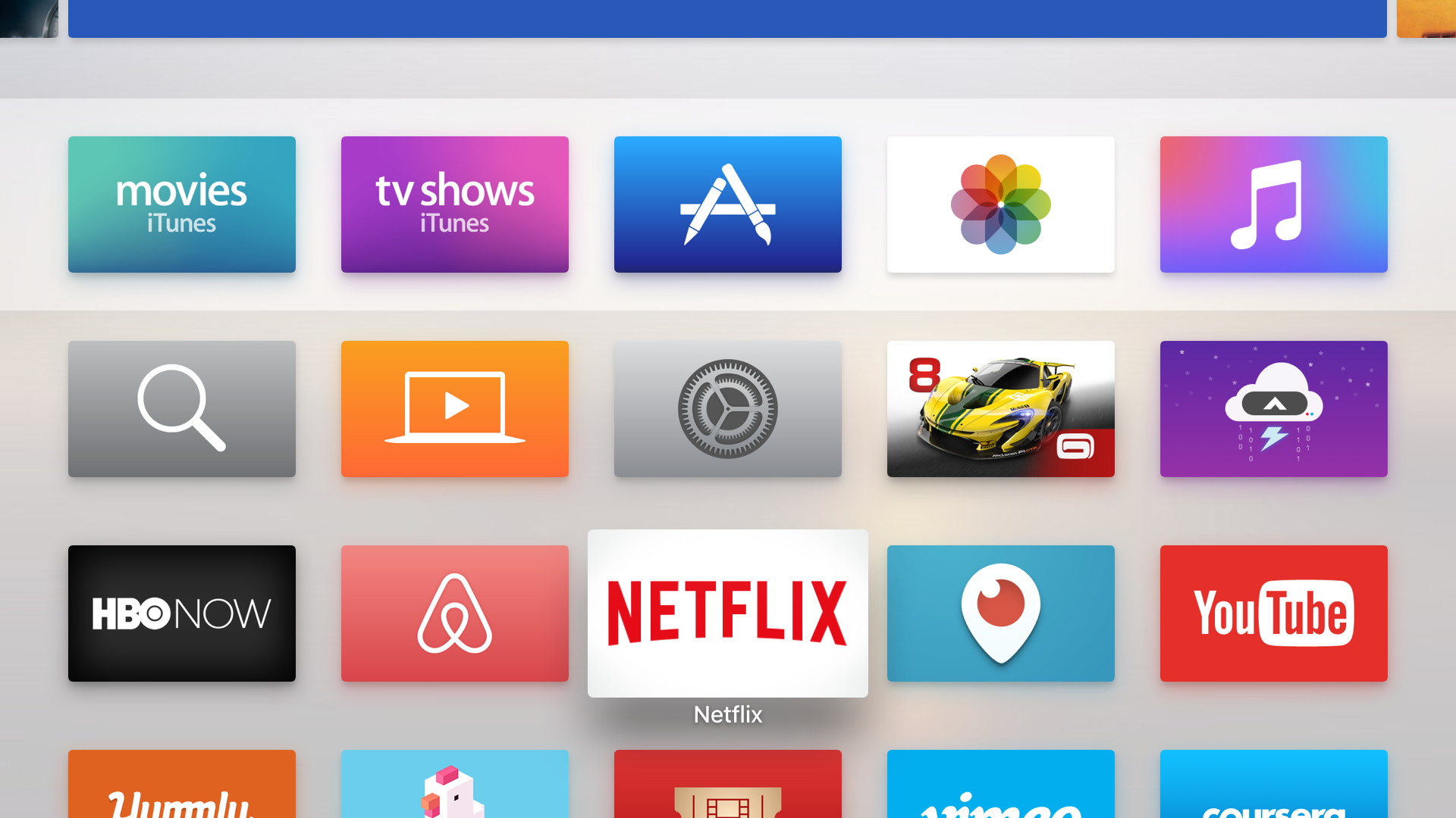 how to buy apps on apple tv