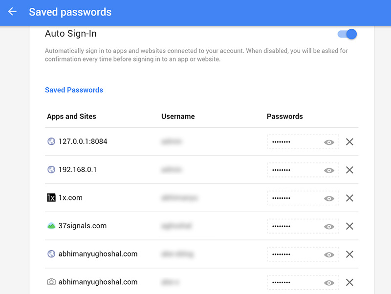 Find Chrome's Saved Passwords From Any Browser