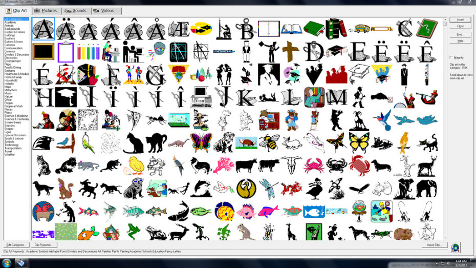 Microsoft Clip Art has...Clipart Gallery Microsoft Office