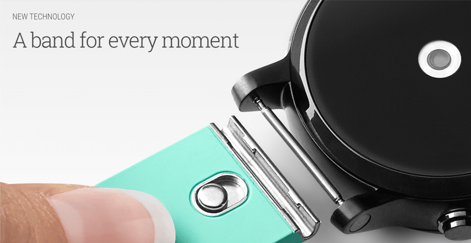 Google's new Android Wear watch bands will make it easy to ...