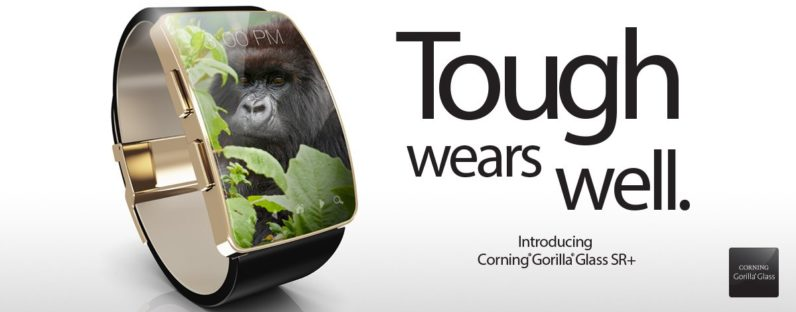 new gorilla glass for wearables is almost as scratch proof as sapphire crystal. Black Bedroom Furniture Sets. Home Design Ideas