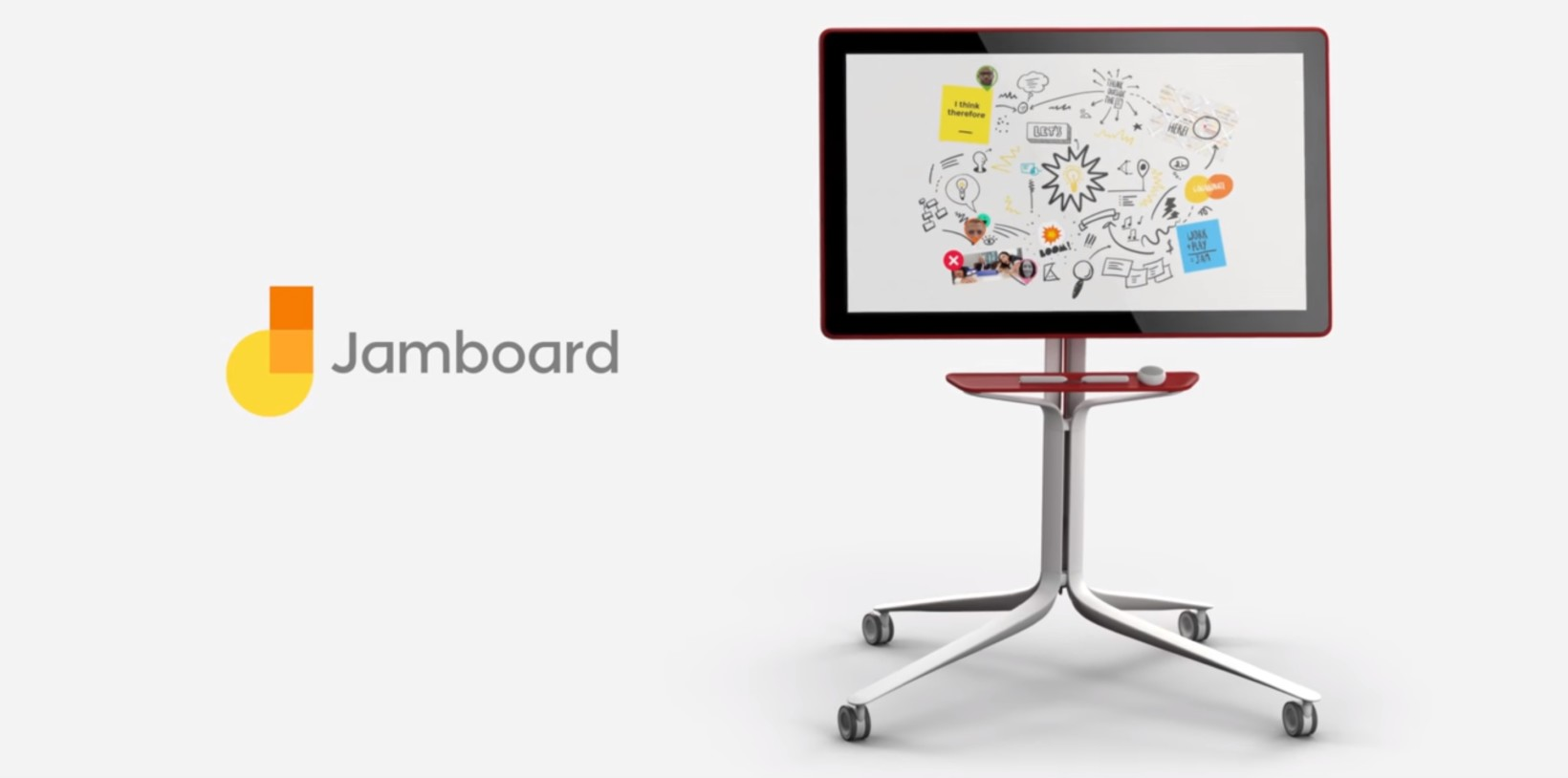 "Google Launches Huge 55"" Whiteboard For G Suite"
