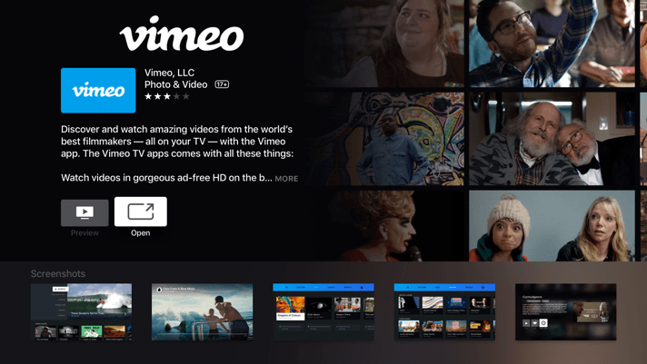 Vimeo Releases Apps For Tvos Android Tv And Samsung S