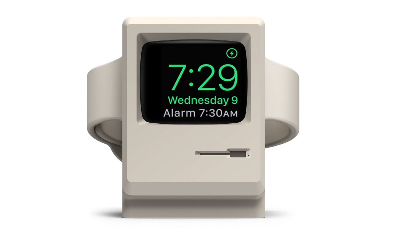 Apple Watch Stand Turns your Favorite Wearable into a Mini Macintosh