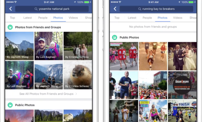 Facebook's new search AI lets you find images by content