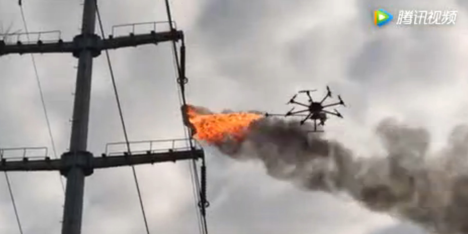This Fire-breathing Drone is Having None of your Rubbish