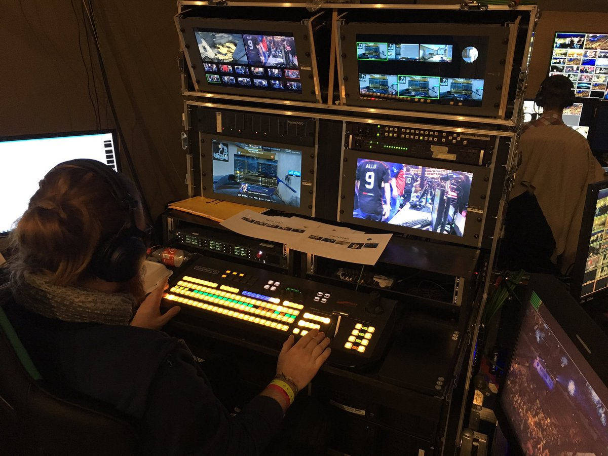 The replay system backstage at IEM 2017