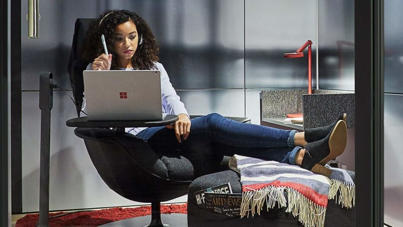 Microsoft wants to redesign the office with Surface-powered 'Creative spaces'