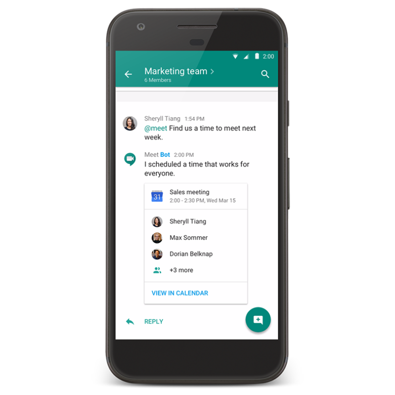 Google Takes On Slack With New Hangouts Chat And Meet Apps
