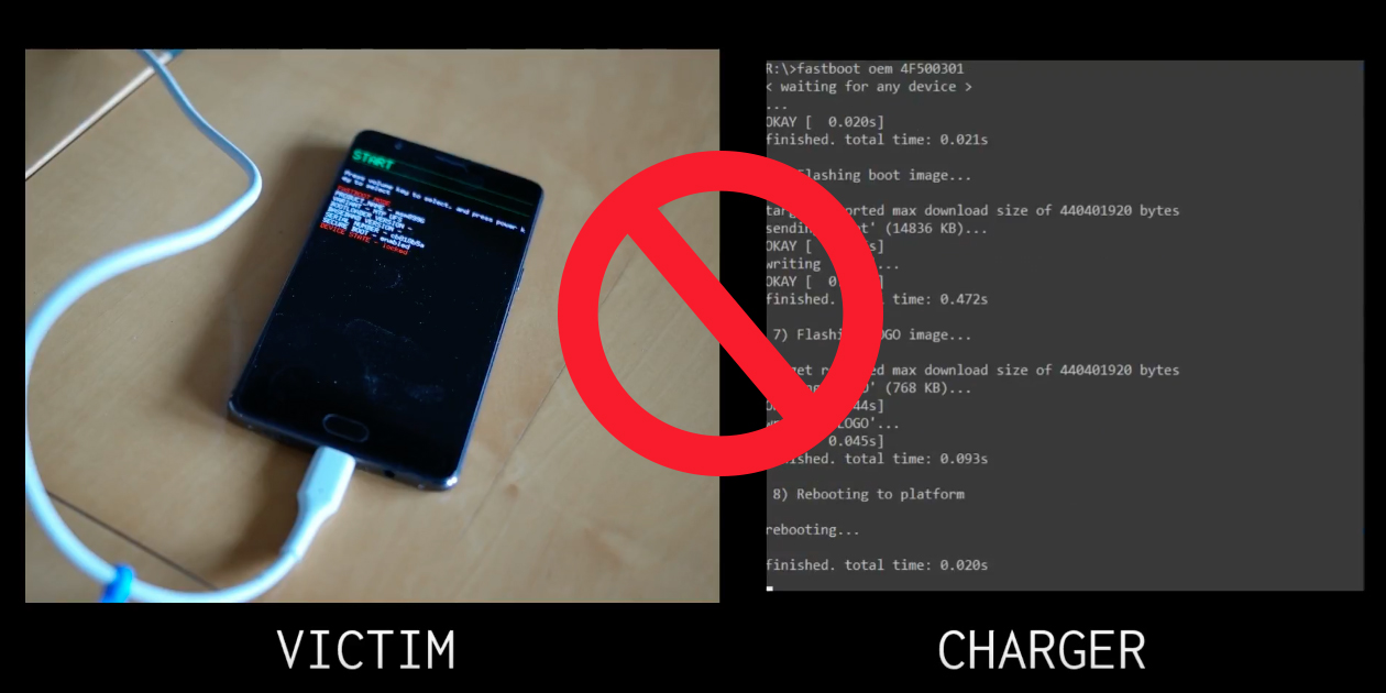 thenextweb.com - Mix - OnePlus 3 bug allowed attackers to hack your phone with malicious chargers