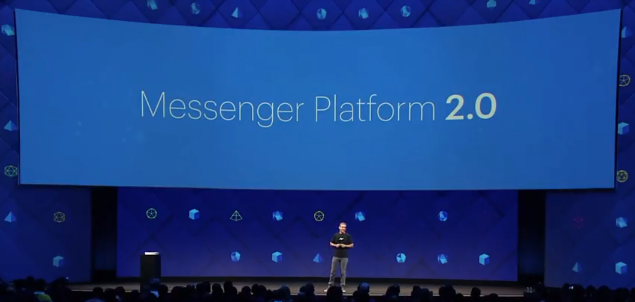 Facebook's Messenger Platform 2.0 will Be your One-stop-shop for Work, Play and Social