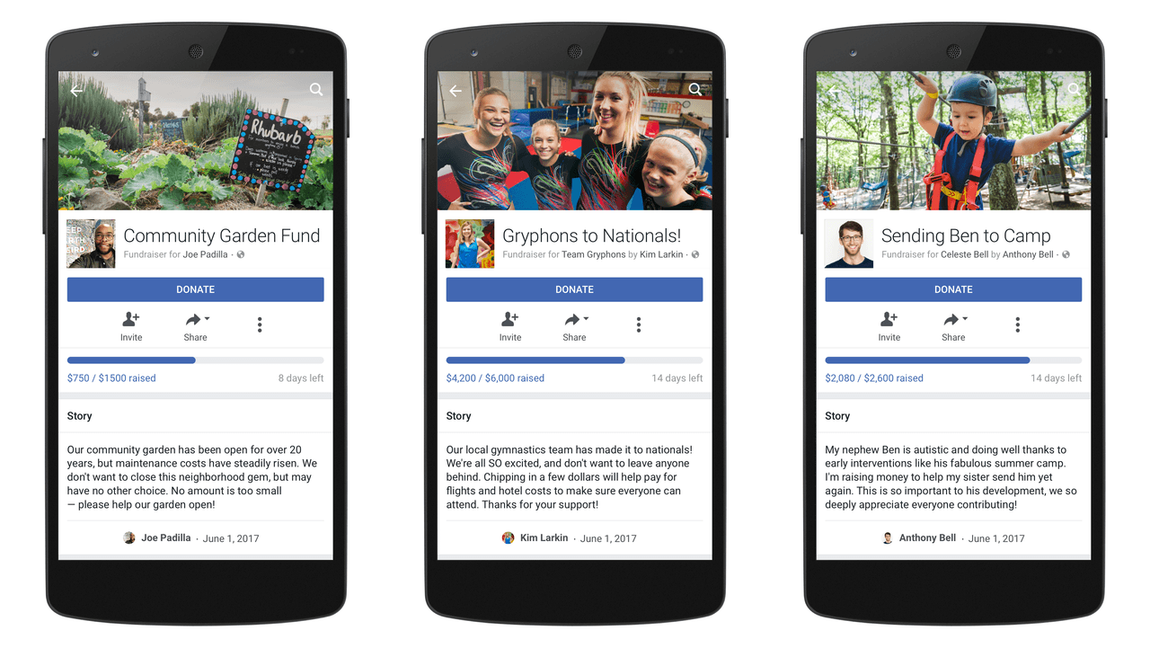 thenextweb.com - Napier Lopez - Facebook expands GoFundMe-like fundraiser service to everyone in the US
