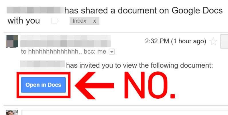 Massive Google Docs phishing attack swept the internet today [Updated]