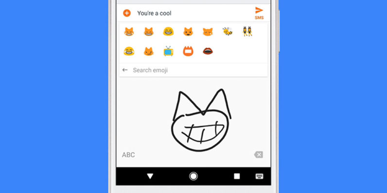 Google Gboard Now Lets You Draw To Search Emoji Because