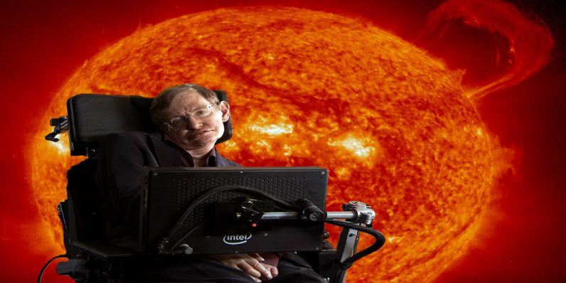 Stephen Hawking says Earth is doomed; It's time to move on