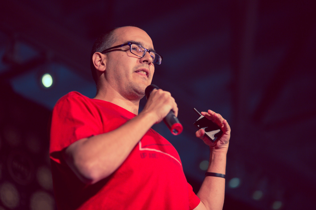 Dave McClure, former CEO of 500 Startups